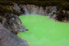 Devil's Bath near Rotorua