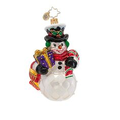 The Christopher Radko Reuben J. Frost Ornament is part of the 2013 Brilliant Treasures Collection of Radko Ornaments