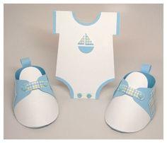 Moldes de zapatitos de niño para baby shower - Imagui