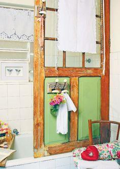 Reciclagem de porta de madeira / DIY, craft