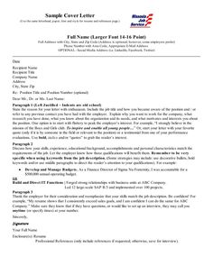 Cover Letter For Market Research Analyst Resume  HttpWww