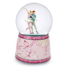 Amazing Ballet Couple Musical Snow Water Globe   MusicBoxAttic.com
