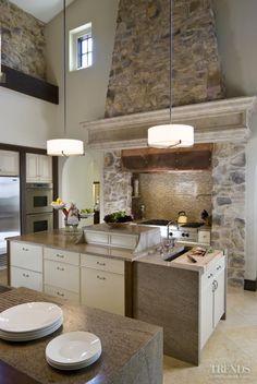 Chefs domain – Italianate villa kitchen remodeled by Martin Horner