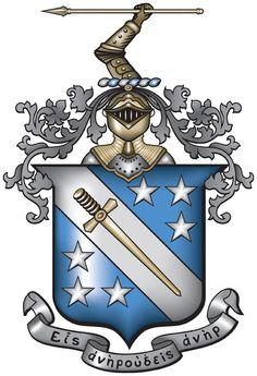 """Phi Delta Theta (ΦΔΘ), also known as Phi Delt, is an international fraternity founded at Miami University in 1848 and headquartered in Oxford, Ohio. Phi Delta Theta, Beta Theta Pi, and Sigma Chi form the Miami Triad. The fraternity has about 169 active chapters and colonies in over 43 U.S. states and five Canadian provinces and has initiated more than 228,000 men between 1848 and 2007. There are over 142,000 living alumni. Chartered house corporations own more than 120 houses valued at $50 million. There are nearly 100 recognized alumni clubs across the U.S. and Canada.  The fraternity was founded by six undergraduate students: Robert Morrison, John McMillan Wilson, Robert Thompson Drake, John Wolfe Lindley, Ardivan Walker Rodgers, and Andrew Watts Rogers, who are collectively known as The Immortal Six. Phi Delta Theta was created under three principal objectives: """"the cultivation of friendship among its members, the acquirement individually of a high degree of mental culture, and the attainment personally of a high standard of morality"""". These cardinal principles are contained in The Bond of Phi Delta Theta, the document to which each member, known as Phis or Phi Delts, pledges on his initiation into the fraternity.  Among the most well-known members of the fraternity are Benjamin Harrison, the 23rd President of the United States, Baseball Hall of Fame member Lou Gehrig, actor Burt Reynolds, architect Frank Lloyd Wright, Chief Justice of the United States Frederick M. Vinson, and Neil Armstrong, the first man to walk on the moon."""