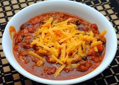 The Pioneer Woman's Chili