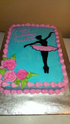 Ballarina cake