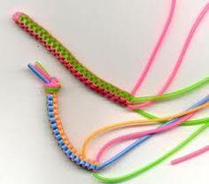 llaveros de tiras de plastico