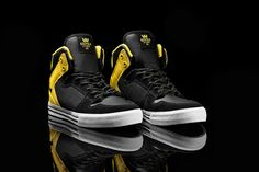 """The Vaider """"Steel"""" is available at fine SUPRA retailers worldwide, and suprafootwear.com."""