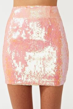 in love with this sequined skirt