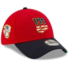 reputable site a11a5 ad20a Men s Minnesota Twins New Era Red Navy 2019 Stars   Stripes 4th of July  39THIRTY