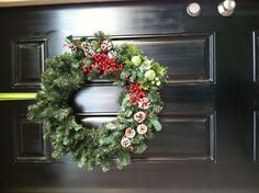 DIY Christmas wreath for $12