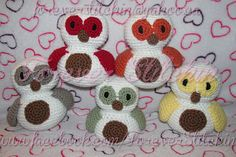 Ravelry: Baby Owl Crochet Pattern By Forever Stitchin pattern by Forever Stitchin