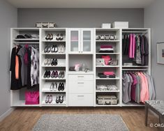 Walk in Closet Ideas; Think Big in Limited Space : Small Walk In Closet Idea | Armada Furniture