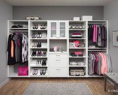 Walk in Closet Ideas; Think Big in Limited Space : Small Walk In Closet Idea | Armada Furniture