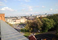 Łódź widok z Andelsa na zachodnia.