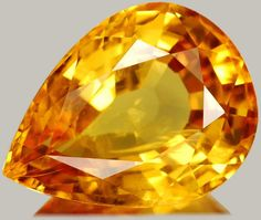 Topaz is one of November's birthstones! A gem that reminds us of Harvest Moons and the golden leaves of Autumn.