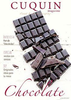 Cuquin Magazine - Núm. V Os presentamos el número de verano de Cuquin Magazine. En él, encontraréis deliciosas recetas con chocolate y una colección de platos frescos y sencillos ideales para el verano.