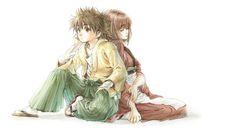 Myojin Yahiko & Sanjo Tsubame - Rurouni Kenshin,Anime