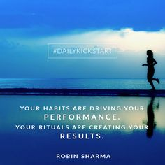 Habit and rituals Motivational Words, Inspirational Quotes, Leadership Development Training, Robin Sharma Quotes, Business Class, Marvel Cinematic Universe, Me Quotes, Parenting, Success