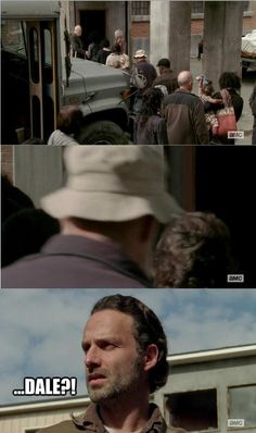 Walking Dead...Dale? OMG!  I thought the exact same thing!!!! - For more TWD & Zombies visit us https://www.facebook.com/ZombieCPC