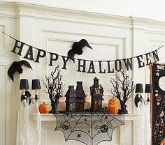 Explore Pottery Barn Kids spooky Halloween costumes, tabletop and decor collections. Halloween costume ideas, dress up ideas, party ideas and plenty of make believe play all right here online or in store. Spooky Halloween, Feliz Halloween, Homemade Halloween Decorations, Halloween Home Decor, Holidays Halloween, Halloween Crafts, Happy Halloween, Spirit Halloween, Halloween Ceiling