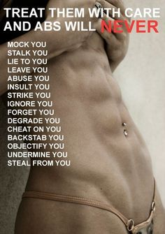 And this is how you should get great abs! Don't forget - food is really important factor.