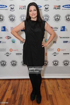 Amy Lee attends the Blind premiere at the Woodstock Playhouse on October 13, 2016 in Woodstock, New York.