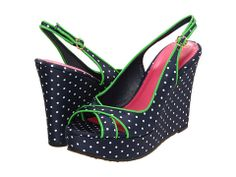 Lilly Pulitzer Picture Perfect Espadrille Polka True Navy/Picture Perfect Polka - Zappos.com Free Shipping BOTH Ways