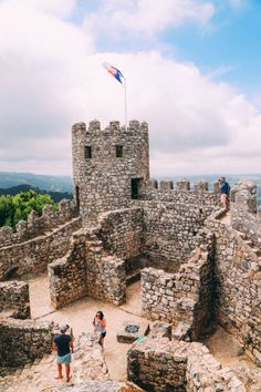 The Moorish Castle, Palace of Sintra And Pena Park – 3 Beautiful Places To See In Sintra, Portugal (5)