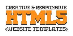 New Responsive HTML5 / CSS3 Website Templates #html5templates #responsivedesign #webtemplates #psdtemplates #html5css3