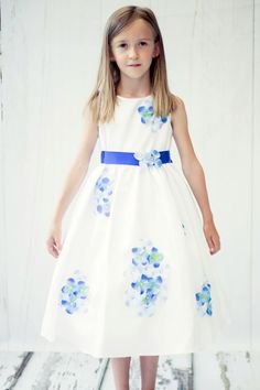 4dda0acd1f72 Flower Girl Dress Polka Dot Organza Overlay Dress with Organza SashWhite Party  Dress Special Occasion Dress