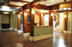 Basement Remodel - stained concrete floors? Something new to consider for flooring options
