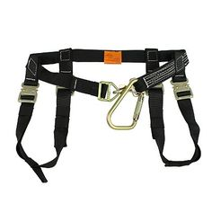PacMule: Personal Escape Harness-  Innovative PacMule Harness features snap-on leg loops for faster, easier donning and doffing than any Class II spec Harness on the market. #TheFireStore