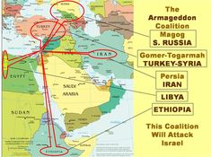 Is the Gog-Magog War of Ezekiel 38 the Battle of Armageddon? Bible Study Lessons, Bible Study Notebook, Revelation Bible Study, Revelation 19, Hebrew Prayers, Bible Mapping, Bible Resources, Bible Images, Religion