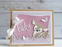 """Baby"" Card (Note: card created by Wybrich) (Site: card not found on main blog page)"