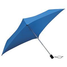 All Square Compact Umbrella Bright Blue | Umbrella Heaven