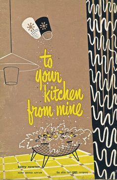 Vintage Cookbook Cover - Salted Title by Wires In The Walls, via Flickr