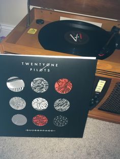 Blurryface on Vinyl❤️ |-/ << my mom actually got me a record player and blurryface and vessel on vinyl. Loving it