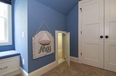secret passageway between kids' rooms...how COOL