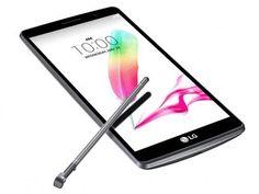 """Smartphone LG G4 Stylus 16GB Titânio Dual Chip 4G - Câm. 13MP + Selfie 5MP Tela 5.7"""" HD Quad Core com as melhores condições você encontra no Magazine 01franklyn. Confira!"""