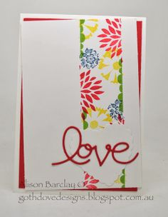 Gothdove Designs - Alison Barclay #stampinup #stampinupaustralia #SAB2014 #PetalParade #thinllts #Valentine