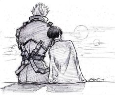 Vash and Meryl. Trigun by chernobrovka