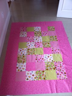 Back of Bella's second quilt