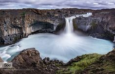 Aldeyjarfoss - Pinned by Mak Khalaf Another shot from the famous Foss on the Sprengisandur. This time I've tried with a Panorama. I hope i works for you as well as it does for me! Landscapes AldeyjarfossCanonEos 6dGernot PosseltIslandcloudsicelandlong exposureriverskywaterwaterfall by immunogump