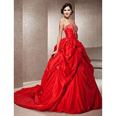 BLAIR - kjole til brudekjoler i taft – GBP £ 206.71