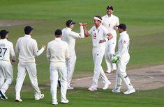#ENGvWI #WIvENG #Test #2020 Test Cricket, Cricket News, England Cricket Team, Stuart Broad, John Campbell, Final Test, New Africa, Old Trafford, Team S