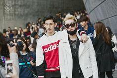 Seoul Fashion Week 2015S/S Street style!!! #model #offduty #ParkHyeongSeop 박형섭