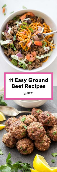 There's so much more to do with ground meat than shape it into patties to slap on a grill. #beef #recipes http://greatist.com/eat/ground-beef-recipes-that-arent-burgers