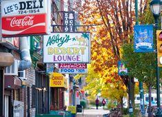 Restaurant Row: Baltimore Avenue in West Philadelphia