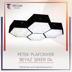 Orijinal tasarımıyla dikkat çeken Petek Plafonyer Beyaz Şeker 04 Avize, enerjik bir aydınlatma sağlıyor. 🎇 ►https://goo.gl/eLvEbm #tavcamistanbul #gözalıcı #plafonyeravize #avizetasarım #tavcamavizeaydınlatma #camsanatı #bright #exclusive #dekorasyon #avizemodelleri